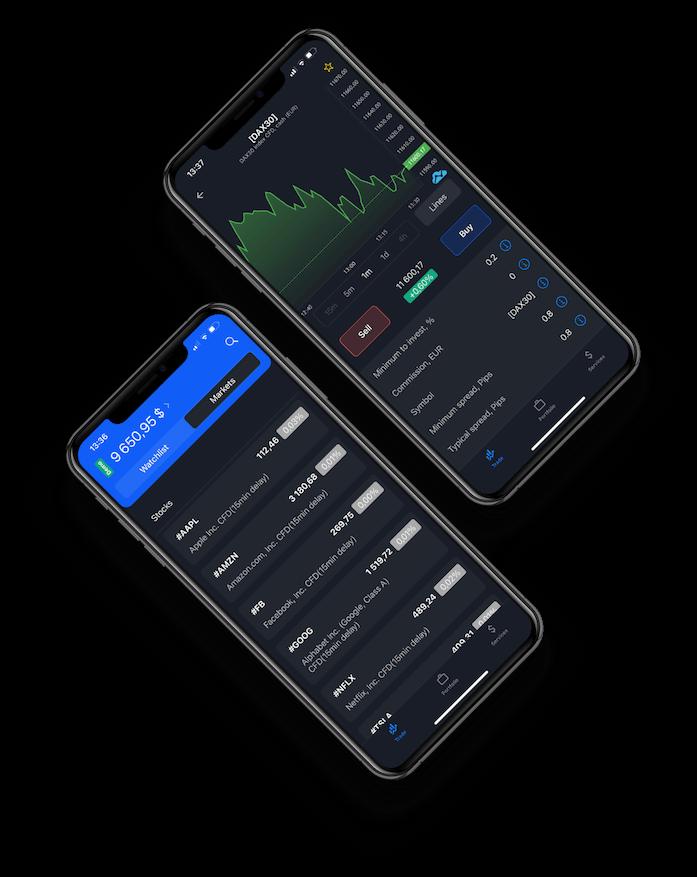 admiral market phone platform